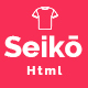 Seiko - eCommerce HTML Template - ThemeForest Item for Sale