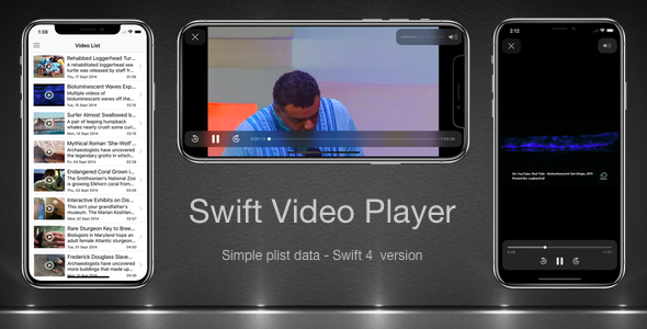 IOS Audio/Video App Templates from CodeCanyon