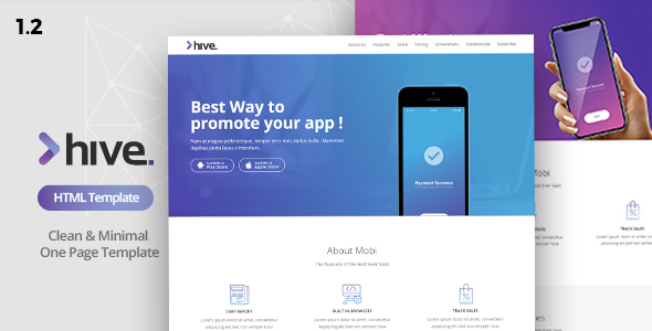 Hive - Multipurpose Single Page Template