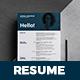 Resume - Cooper  - - GraphicRiver Item for Sale
