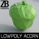 Lowpoly Acorn 001 - 3DOcean Item for Sale
