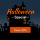 Halloween Sale GWD HTML5 Ad Banner - CodeCanyon Item for Sale