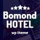 Bomond Hotel WordPress Theme - ThemeForest Item for Sale