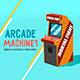 Arcade Machine (Sketch & Toon) - 3DOcean Item for Sale