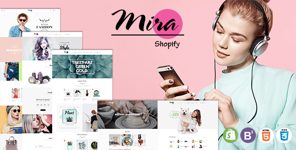 Mira - Accessories Boutique Responsive Sectioned Shopify Theme