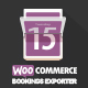 WooCommerce Bookings Exporter | Download CSV, PDF or Email Reports - CodeCanyon Item for Sale