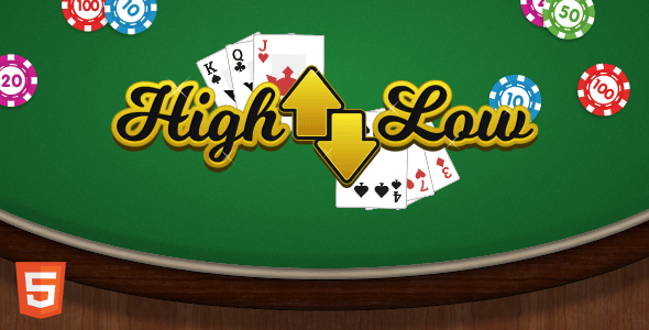 High Low - HTML5 Casino Game Download