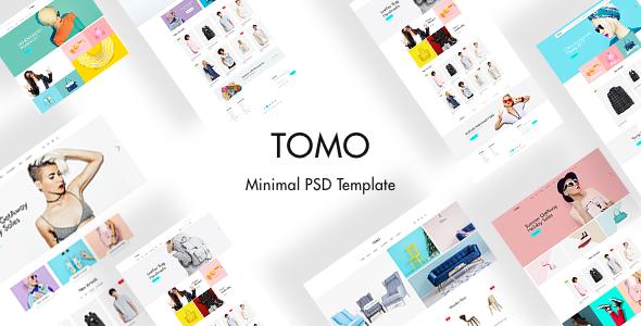 TOMO – Minimal eCommerce Template, Gobase64