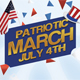 Patriotic March Flyer Template - GraphicRiver Item for Sale