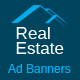 Real Estate - Multi Purpose Ad Banners - 08 Sizes - CodeCanyon Item for Sale