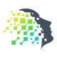 Tecnology face logo - GraphicRiver Item for Sale