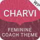 Charvi Coach & Consulting - Feminine Business WordPress Theme - ThemeForest Item for Sale
