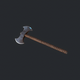 Double Axe V1 pbr - 3DOcean Item for Sale