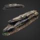 3d scanned nature forest stuff 009 - 3DOcean Item for Sale