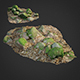 3d scanned nature stone 015 - 3DOcean Item for Sale