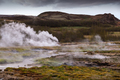 Beautiful Icelandic landscape with geysir - PhotoDune Item for Sale