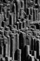 Basalt columns in Iceland, near Vik. - PhotoDune Item for Sale