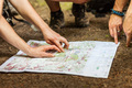 Navigating with map and compass - PhotoDune Item for Sale