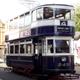 Vintage Electric Tram Passing 1