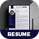 Creative Resume - Adam - - GraphicRiver Item for Sale