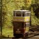 Vintage Electric Tram Passing 2