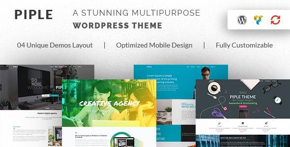 Piple - Creative Multipurpose WordPress Theme