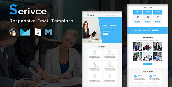 Service - Multipurpose Responsive Email Template