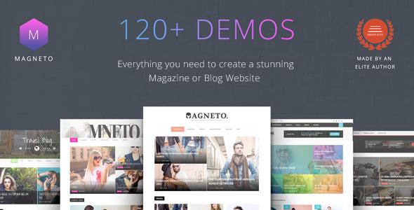 Magneto - Multi Concept Responsive WordPress Magazine and Blog Theme