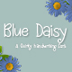Blue Daisy - GraphicRiver Item for Sale