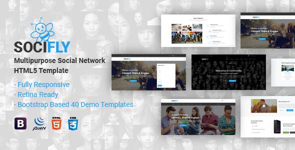 SociFly | Multipurpose Social Network HTML5 Template