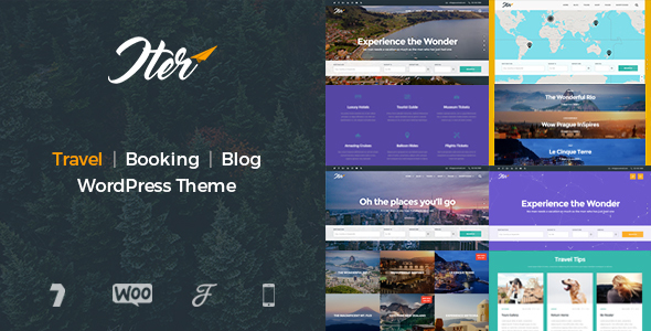 Iter - Travel & Tour Booking WordPress Theme