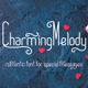 CharmingMelody| Romantic Curly Font - GraphicRiver Item for Sale