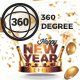 Facebook 360 Degree New Year Template - GraphicRiver Item for Sale