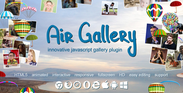 Air Gallery - JavaScript Gallery Plugin