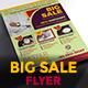 Big Sale Promotion Flyer - GraphicRiver Item for Sale