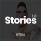 Stories - A Modern Personal Blogging HTML5 Template - ThemeForest Item for Sale