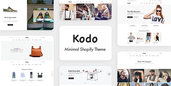 Kodo - Minimal Layout Builder Shopify Theme