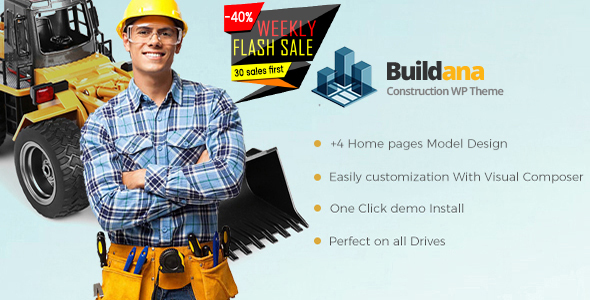 Buildana | Construction & Building WordPress Theme
