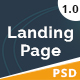 Nohassh Creative Landing Page PSD Template. - ThemeForest Item for Sale