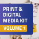 Print and Digital Media Kit Template - GraphicRiver Item for Sale