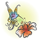 Flying Hummingbird in Tattoo Style - GraphicRiver Item for Sale