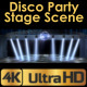 Disco Party Stage With Spotlights - VideoHive Item for Sale