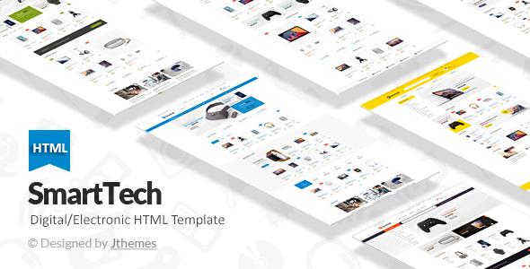 SmartTech - Ecommerce HTML Template
