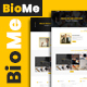 BioMe - Presonal & Corporate Website Template - ThemeForest Item for Sale