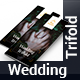Wedding Trifold Brochure - GraphicRiver Item for Sale