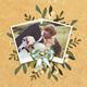 Minimal Elegant Floral Wedding DVD Covers - GraphicRiver Item for Sale