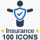 Insurance Icons - GraphicRiver Item for Sale