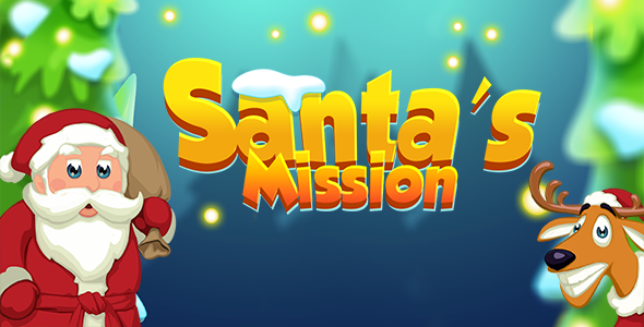 Santa's Mission Match 3 HTML 5 Game