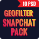 Wedding Geofilters Snapchat - GraphicRiver Item for Sale