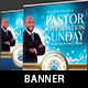 Community Pastor Appreciation Banner Template - GraphicRiver Item for Sale